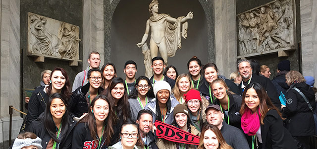 "From Half Dome in Yosemite, to Il Duomo in Italy, Kevin Petti has always followed his bliss. And his unique career is the perfect example of what can happen as <a href=""https://cesblog.sdsu.edu/the-passion-and-serendipity-behind-one-of-sdsus-most-popular-study-abroad-programs/#more-'"" class=""more-link"">more »</a>"