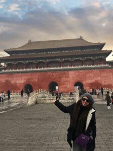 Ivetthe Colio in Beijing