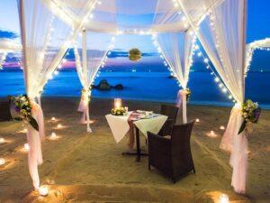Empty Wedding on Beach